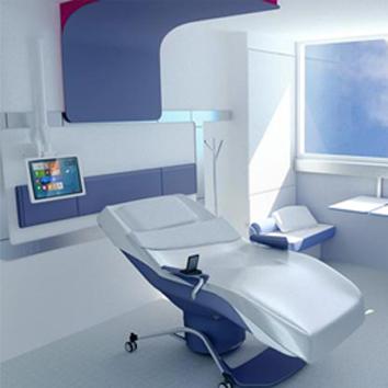 design sante- chambre hospital du futur